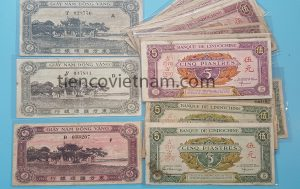 thủy đình, giấy năm đồng vàng, tiền đông dương