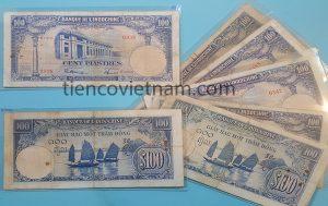 giấy bạc một trăm đồng, 100 đòng thuyền buồm, $100