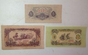 Bộ tiền việt nam dân chủ cộng hào 1964-1975