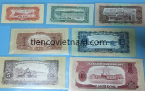 bộ tiền việt nam dân chủ cọng hòa 1958