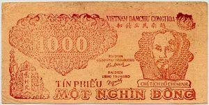tín phiếu 1000 đồng miền trung